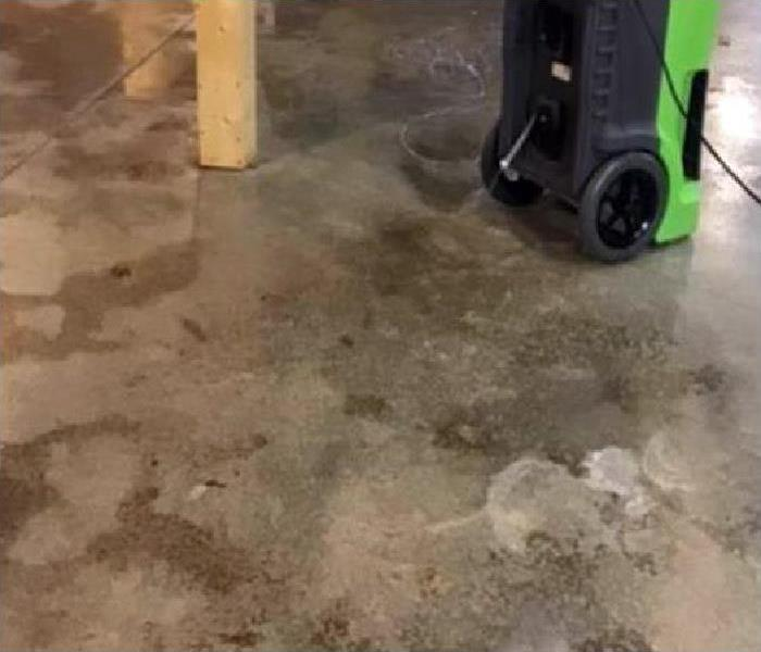 flooding in home flooring damaged